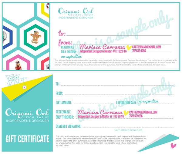 Category: Hostess Exclusive - Origami Owl - Adriana Newton ... | 509x600